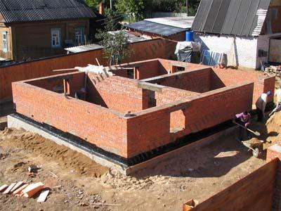 Проектирование и строительство фундамента