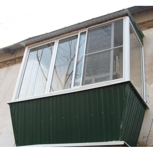 Раздвижное остекление лоджий и балконов