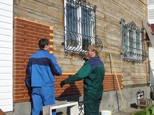 Применение металлического сайдинга в наружной отделке дома