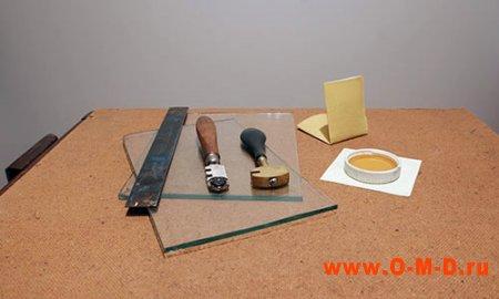 Инструменты для стекольных работ