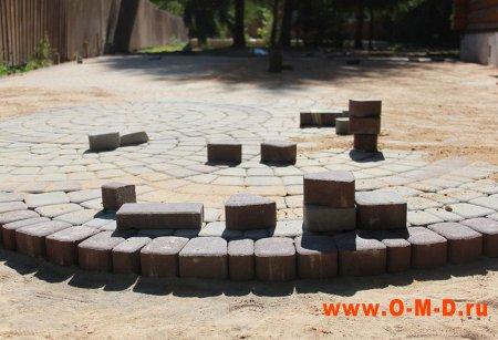 Брусчатка бетонная