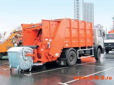 Спецтехника для вывоза мусора