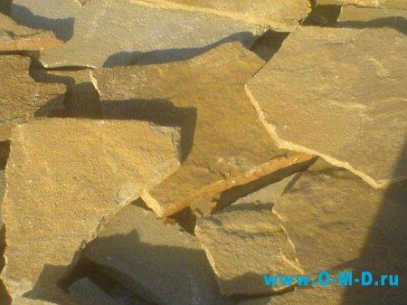 Натуральный камень песчаник желтый – лучший в Луганске