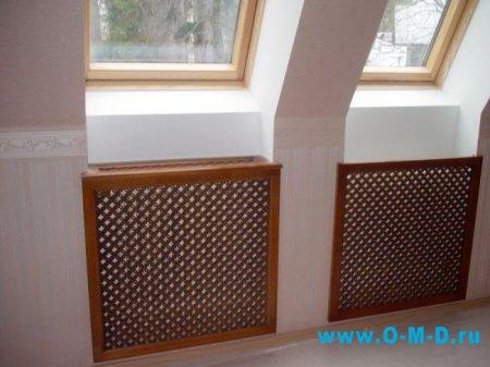 Декор радиаторов отопительных батарей