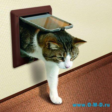 Комнатные двери для домашних животных