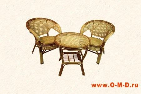 Плетёная мебель.