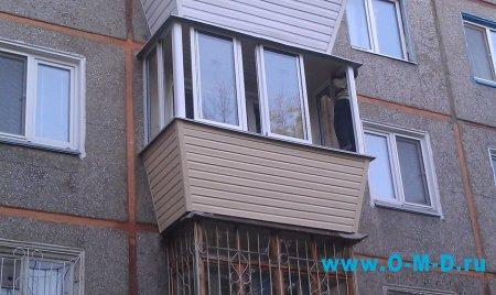 Застекление балконов в хрущевках
