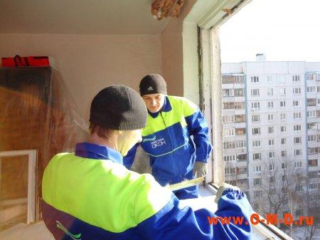 Установка пластиковых окон в зимнее время года