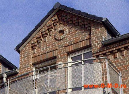 Выбор архитектурной отделки фасада.
