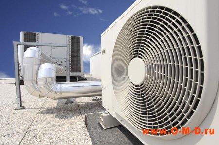 Оснащение торгового помещения кондиционерами и вентиляцией