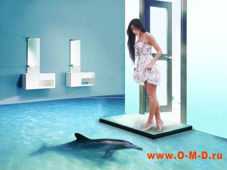 Наливные полы 3Д