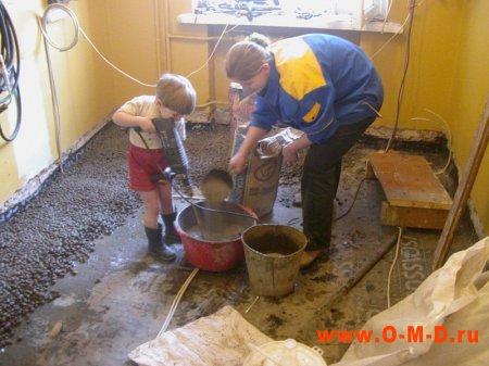 Ремонтируем кухню.