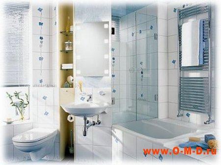 Несколько советов по ремонту ванной комнаты.