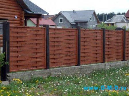Выбираем забор для дачи.