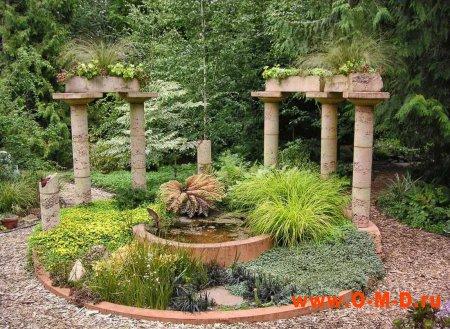 Малые архитектурные формы в вашем саду