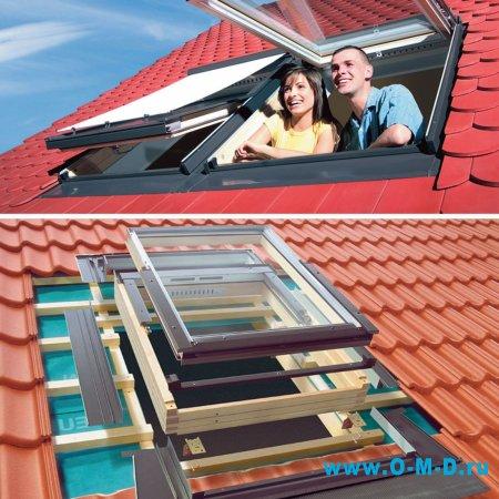 Мансардные окна: «Наша стройка» предлагает лучшие!