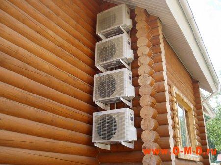 Вентиляция деревянного дома.
