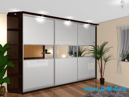 Удобные и красивые шкафы для одежды на заказ