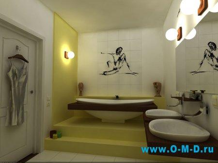 Комфортное освещение для ванной