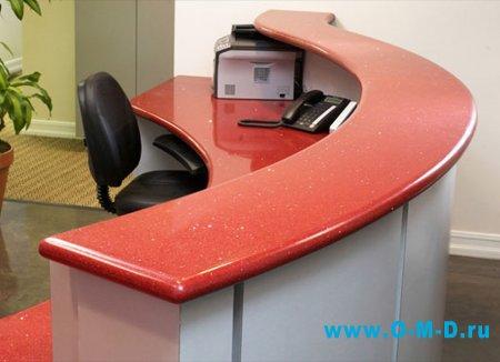 Мебель для персонала: стойка администратора