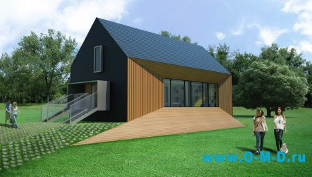 Фасадные системы для загородных коттеджей.