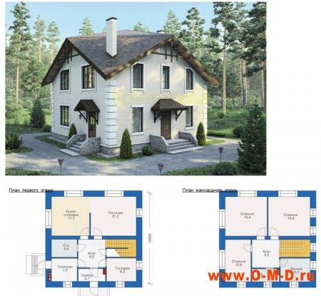 Строительство дома начинается с проекта