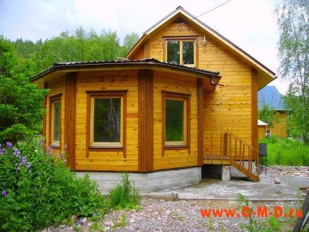 Преимущества деревянного дома.