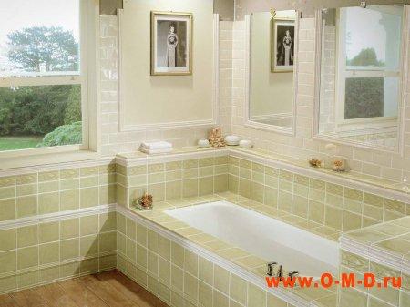 Виды отделки ванной комнаты