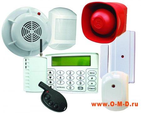 Установка пожарных датчиков и сигнализации, обеспечение пожарной безопасности