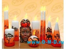 Декоративный интерьер: из Африки с любовью