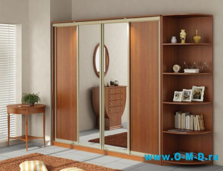 Роль шкафа-купе в интерьере дома