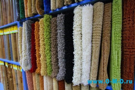 Использование ковролина для украшения интерьера помещения