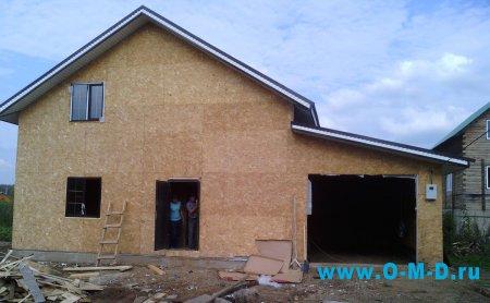 Строительство каркасного дома: используемые технологии и преимущества