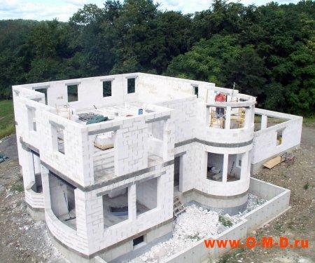 Строительство дома из газобетона: надежно и перспективно