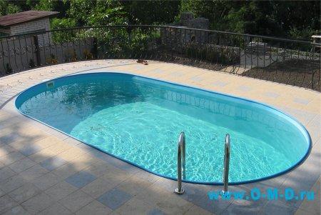 Обслуживание бассейна в загородном доме