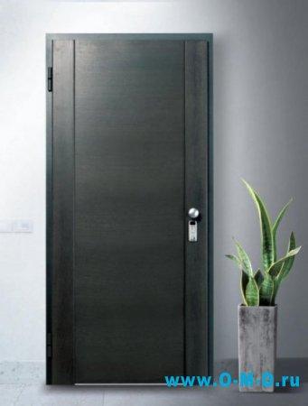Виды отделки входных дверей.