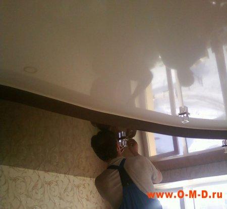 Методика монтажа натяжных потолков