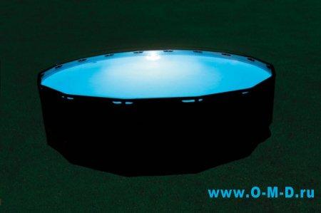 LED-подсветка для бассейна.