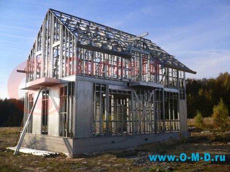 Дома из металлокаркаса
