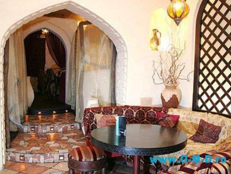 Декоративный интерьер в восточных традициях