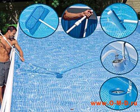 Основные правила ухода за дачным бассейном