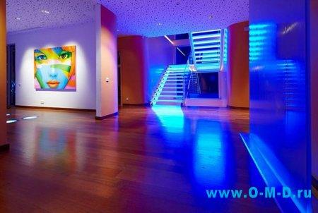 Использование светодиодных лент в освещении дома