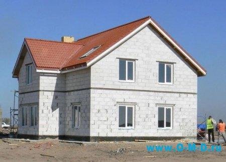 Газобетонный дом: недорогой и теплый