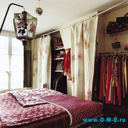 Что и как хранить в спальне