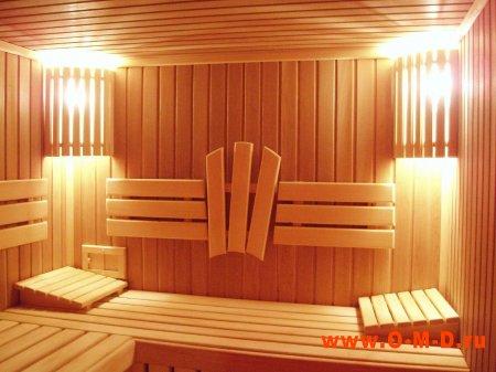 Освещение в бане: на что обратить внимание