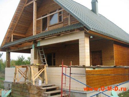 Вагонка для внутренней и внешней отделки загородного дома