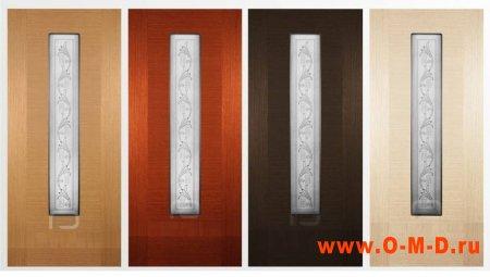 Шпонированные двери: преимущества конструкции