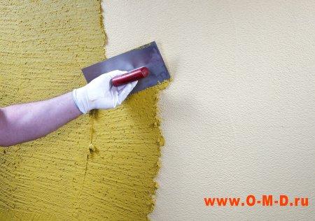 Как наносить декоративную краску