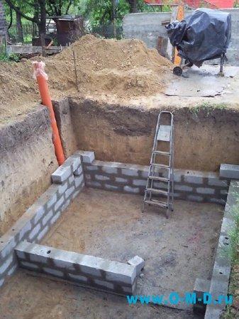 На каком фундаменте легче делать подвал