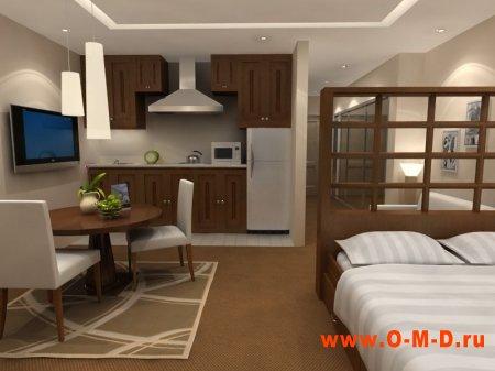 Как создать уют в однокомнатной квартире
